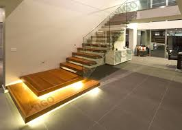 creative of folding stairs design on interior remodeling ideas