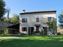 country house with garden and pool for sale in le marche restored