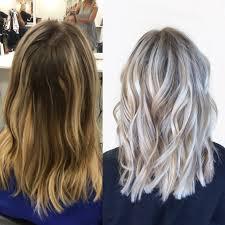 wash hair after balayage highlights pin by alexa ahlman on hair pinterest habit salon ash blonde