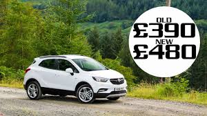 vauxhall mokka 2017 road tax 2017 how much more will britain u0027s best selling cars cost