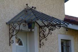 tettoia in ferro battuto pensiline in ferro pergole e tettoie da giardino arredare con
