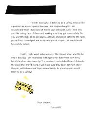 Examples Of Letters Of Recommendation For Teachers The Letter That Landed My Daughter On The Safety Patrol Pieces