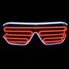 Light Up Stick Figure Halloween Costume Extra Bright El Wire U0026 El Wire Kits Glow Glasses U0026 Leds