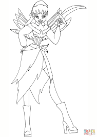 winx club pirate fairy coloring page free printable coloring pages