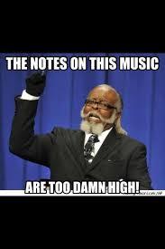 Flute Player Meme - said no trumpet player ever scratch that no decent trumpet player