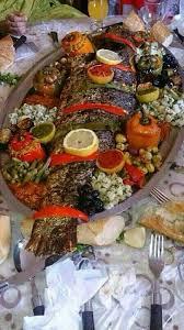 site de cuisine marocaine en arabe épinglé par pour le loisir azedine sur salade poissons