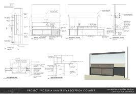 Reception Desks Nz by Alex Brough Architectural Technician