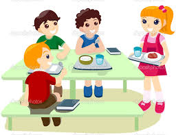 Kids Eating Table Kids Eating At Table Clipart 33