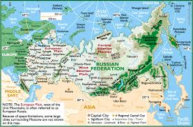 european russia map cities russia detailed physical map of russia back to physical maps of