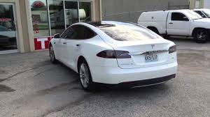 All Pro Window Tinting Tesla S At Solar Pro Window Tinting Blue Springs Youtube