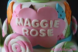 pink owl argyle lollipops baby shower cake name rose bakes