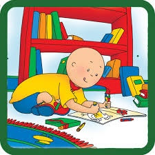 learn caillou tap tap tales