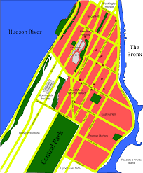 Map Of Manhattan Neighborhoods Crime In Harlem Wikipedia