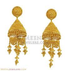 Big Chandelier Earrings 22k Exclusive Chandelier Earrings Erfc11120 22k Gold Exclusive