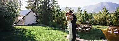 wedding venues in montana glacier park weddings an outdoor montana venue at glacier