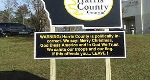 sheriff brags about politically incorrect county with new