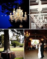 Wedding Chandeliers Modern Rustic Chandeliers In Trees U0026 Tents U2026 Green Wedding Shoes