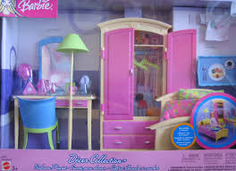 amazon com barbie decor collection bedroom playset multi