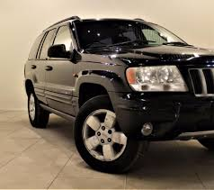 jeep grand cherokee 2 7 limited crd 5d 161 bhp black 2003 in