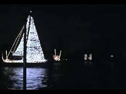 fort lauderdale christmas lights boat parade 2009 sail boat