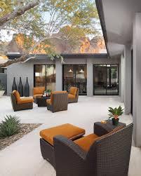 asian contemporary modern landscape garden patio design photo