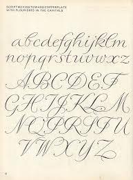 sciptlettering p12 script alphabet script lettering and flourish