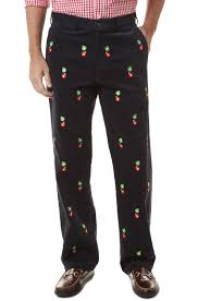 beachcomber cord pant nantucket navy with ornaments cords