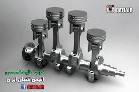 4 cylinder engine inline 4 cylinder engine iges catia 3d cad model grabcad
