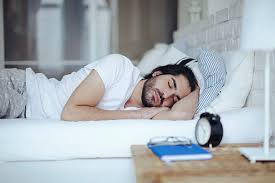 Man Sleeping In Bed Man Sleeping In Bed Pictures Images And Stock Photos Istock