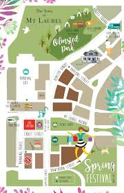 Festival Map Spring Festival Map The Town Of Mt Laurel