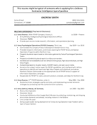 Firefighter Resume Templates Army To Civilian Resume Examples Resume Example And Free Resume