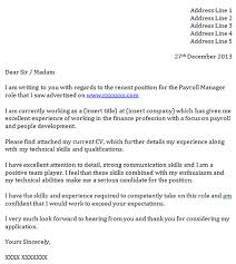 epic payroll officer cover letter 56 for good cover letter with