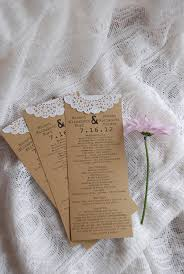 vintage wedding programs vintage wedding programs 1 00 via etsy inspirations