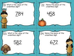 thanksgiving math centers 2nd grade by lifesaver resources tpt