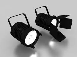Spot Light Fixtures Theatre Spotlight Fixtures 3d Model 3ds Max Files Free