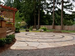 Stone Patio Design Garden Adventures For Thumbs Of All Colors Patio Design Ideas