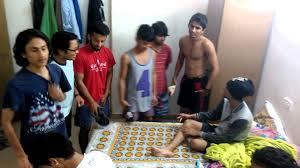 birthday celebration in hostel