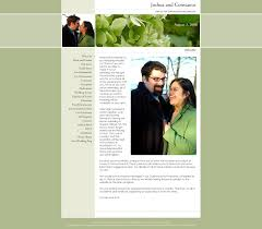 our wedding website our wedding website josh and connie