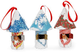 craft roll birdhouse ornament craft ideas