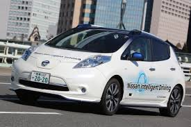 nissan leaf acenta review nissan leaf autonomous drive first ride review auto express