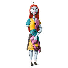 sally from tim burton u0027s the nightmare before christmas ornament