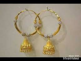 bengali earrings gold ear studs gold stud earrings
