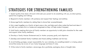 statement of purpose and objectives vocabulary strong families ppt video online download 12 strategies for strengthening families