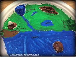 making landforms u0026 using the 7 habits 3rd grade thoughts