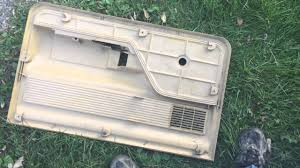 73 u002779 ford truck door panel removal youtube