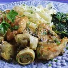 Chicken Piccata Cooking Light Chicken Piccata With Artichoke Hearts Recipe Allrecipes Com