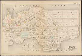 Copley Square Boston Map by Atlas Of The City Of Boston South U0026 East Boston Norman B