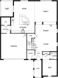 Florida Homes Floor Plans Plan 3737 Modeled U2013 New Home Floor Plan In Orchard Park By Kb Home