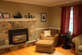 cozy living room with fireplace decorating clear