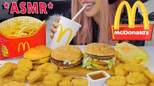 mcdonald s despicable me 3 family mcvalue box asmr sounds